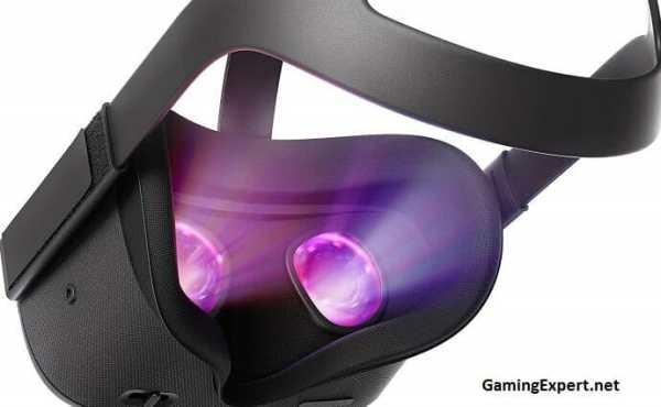 Oculus Quest VR headset image