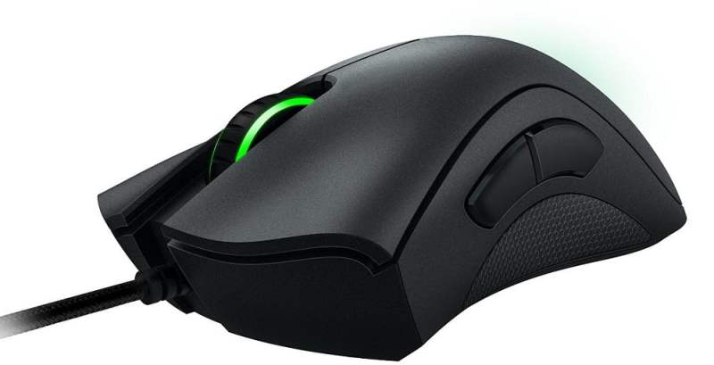 DeathAdder mouse side view