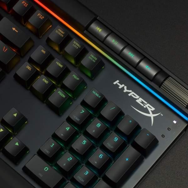 HyperX Alloys Elite RGB gaming keyboard