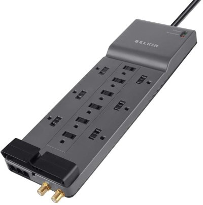 Belkin 12-Outlet Power Strip Surge Protector