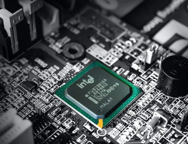 Intel motherboard black