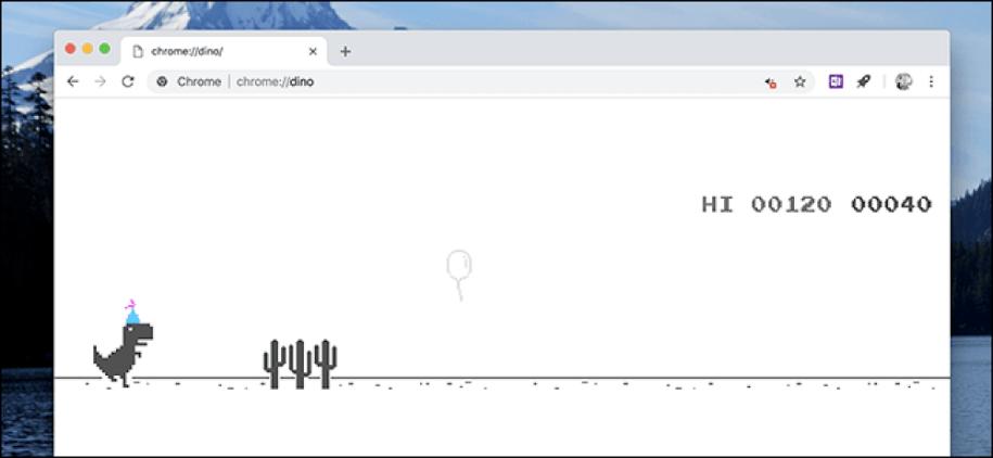 How to Play The Hidden Dinosaur Game on Google Chrome?