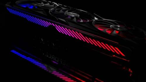 GeForce RTX 3080 Graphics Card with RGB