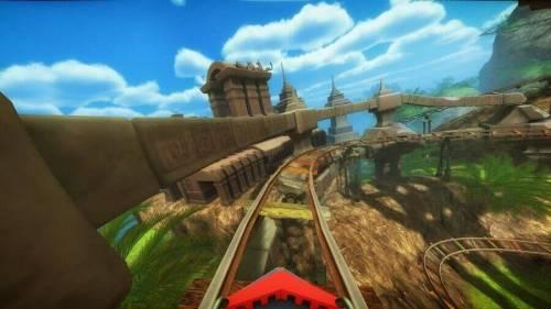 Roller Coaster VR game