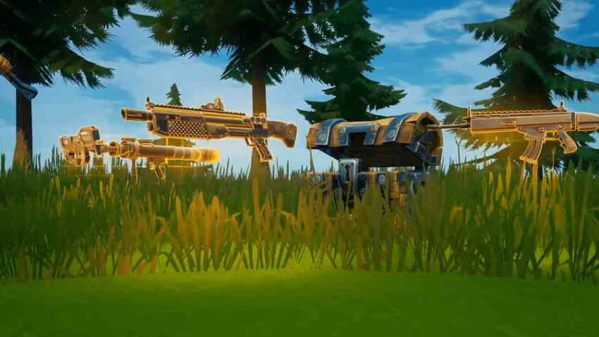 Guns and Weapons in Fortnite