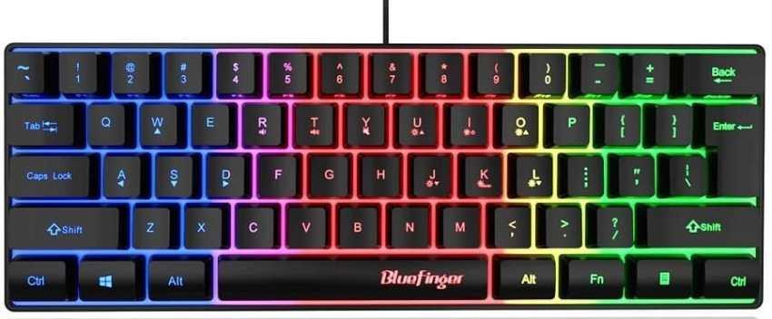 BlueFinger RGB Gaming Keyboard