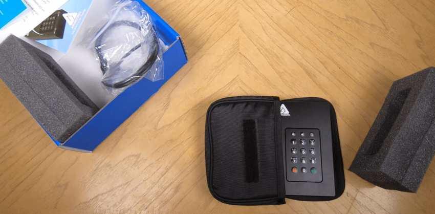 Apricorn 1TB Aegis Fortress L3 Portable SSD -image 1