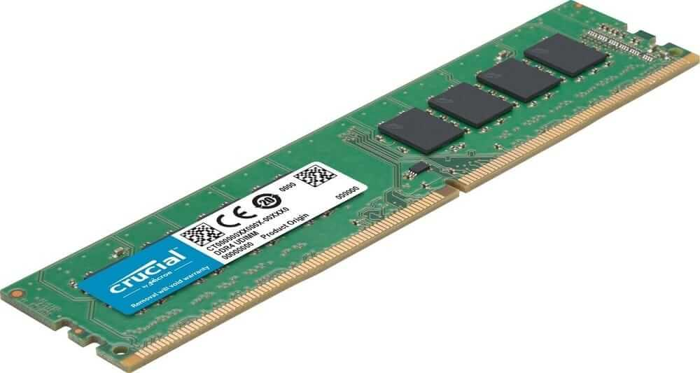 Crucial 8GB Single DDR4