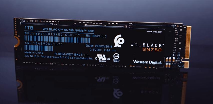 WD Black SN750 SSD -1
