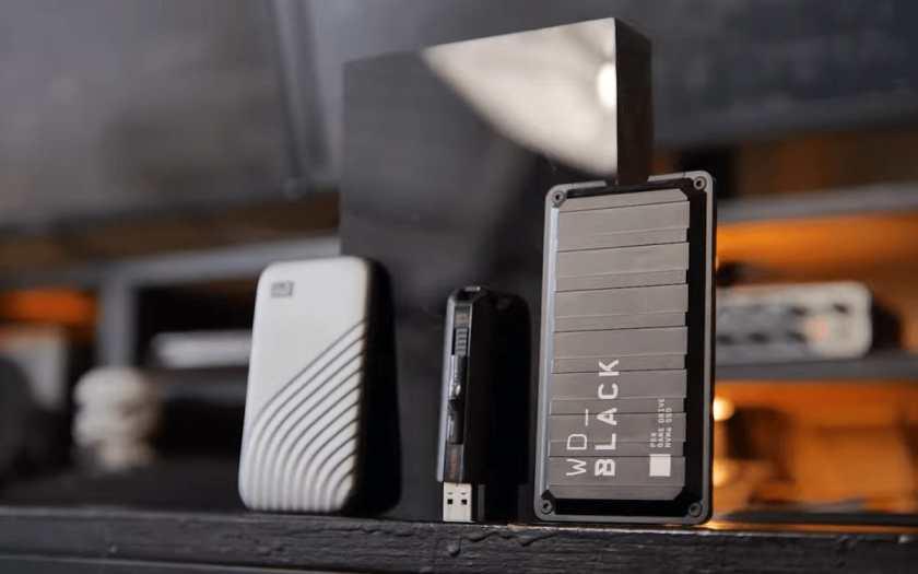 WD_Black P50 Game Drive Portable SSD image 1
