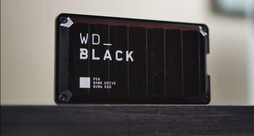 WD_Black P50 Game Drive Portable SSD image 3