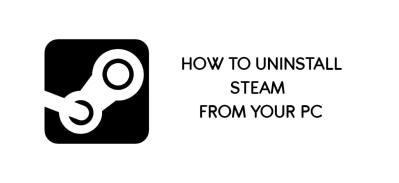 uninstall Steam data