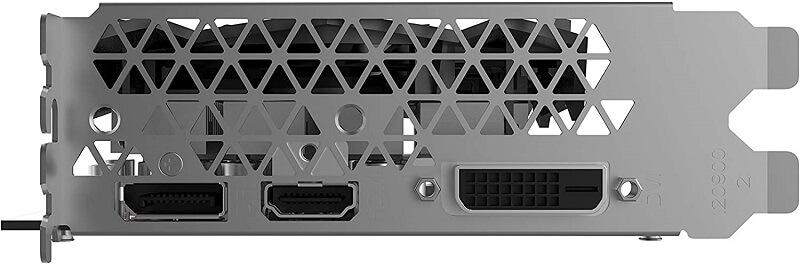 ZOTAC Gaming GeForce GTX 1650 Super ports