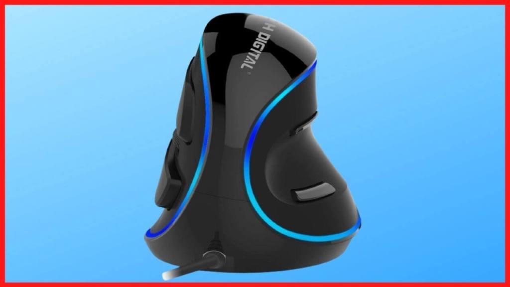 J-Tech Ergonomic Vertical USB Mouse