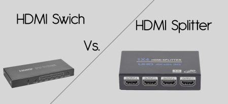 HDMI Switch Vs. HDMI Splitter – Which is better?