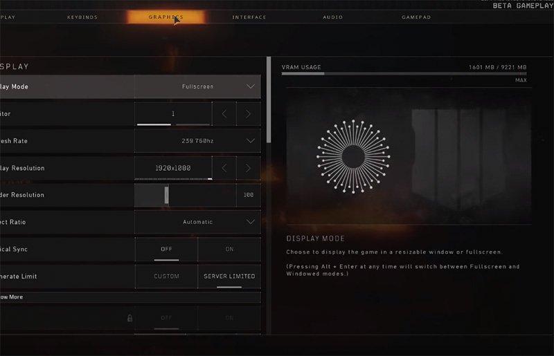 shroud Call Of Duty Blackout Settings