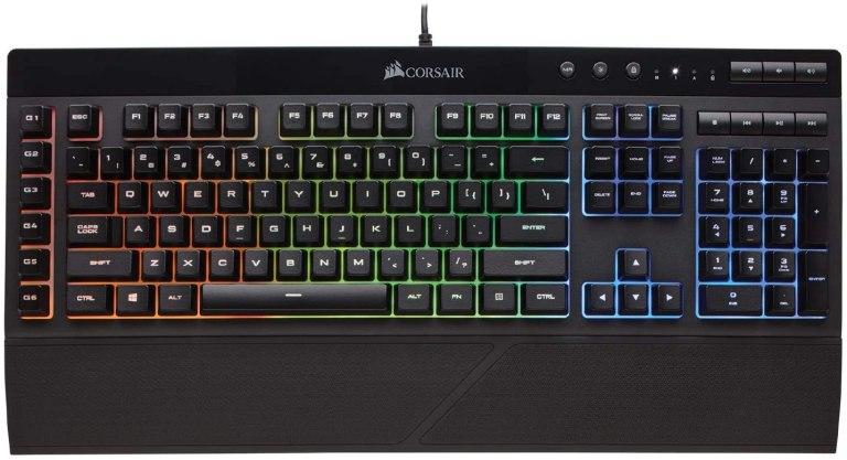 CORSAIR K55 RGB – Best Gaming Keyboard Under 100 Dollars