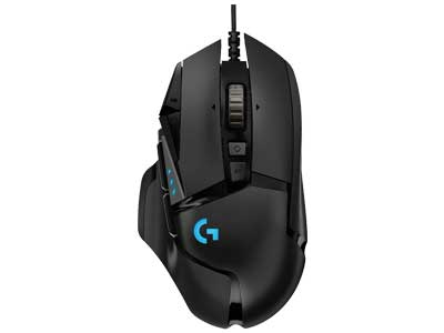 Logitech G502 gaming mouse Apex