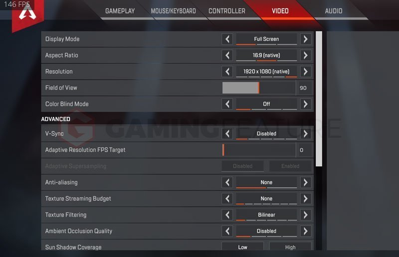 Skadoodle Apex Legends Settings