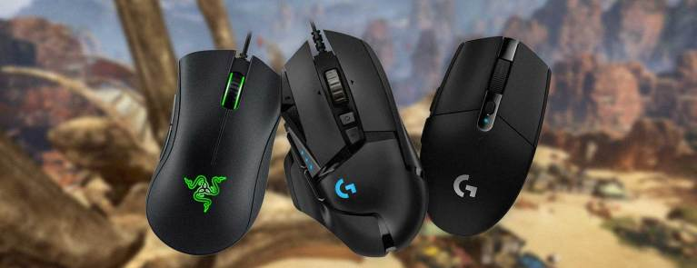 best gaming mice for apex legends