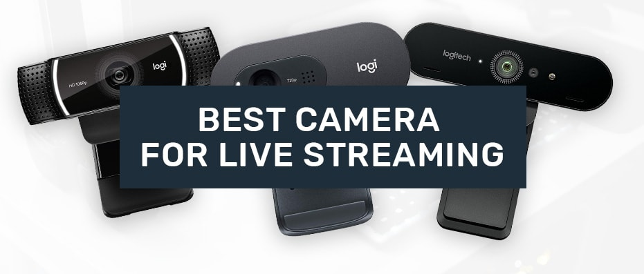 webcams for live streaming on youtube