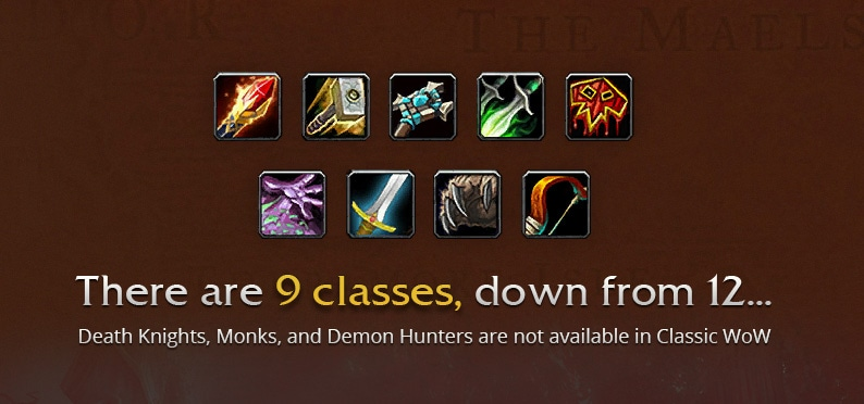 wow classic classes