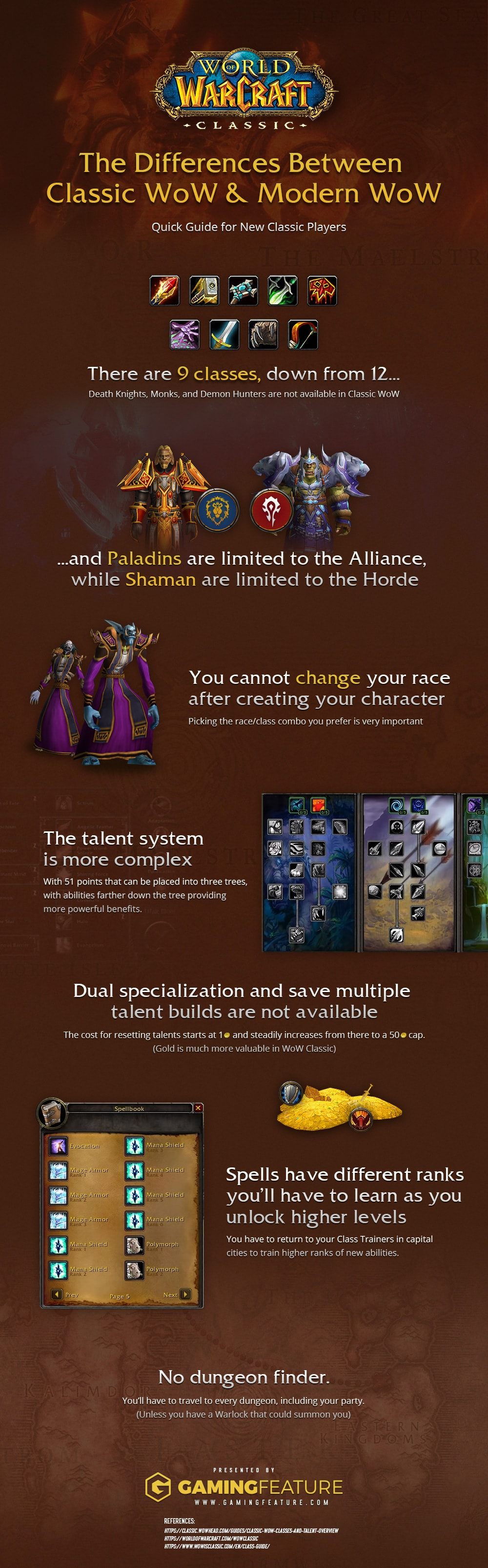 Differences Between Classic WoW Modern WoW