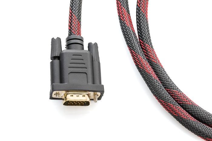 HDMI and VGA cable connector
