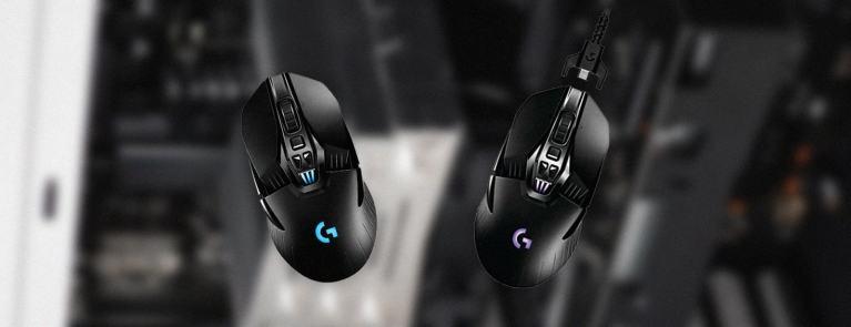 logitech G900 vs G903 comparison