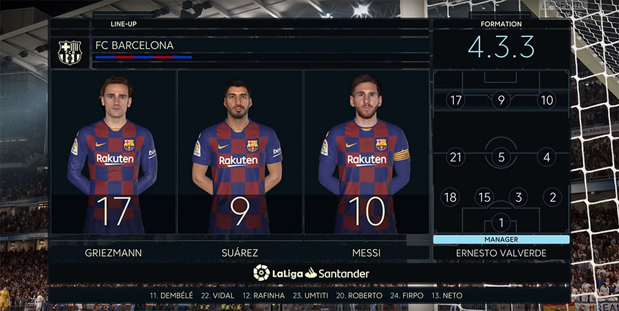 Barcelona formations fifa