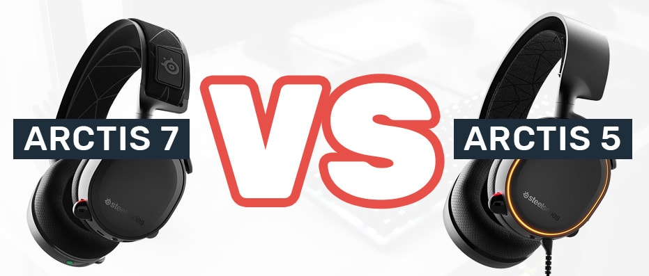 Steelseries Arctis 5 vs 7