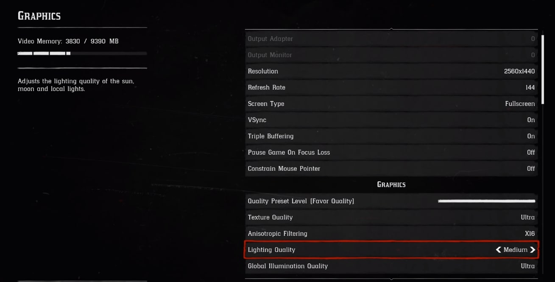 Red Dead Redemption Lightning Quality