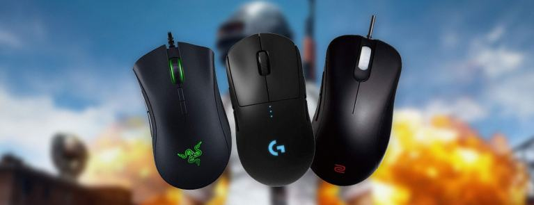 best gaming mice for pubg