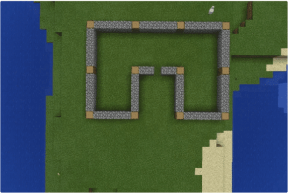 Minecraft Frame_Walls