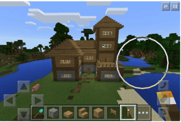 Minecraft Large House