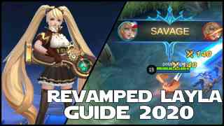 Mobile Legends Revamped Layla Guide 2020 & Best Build