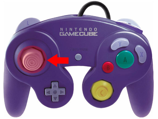 Gamecube Controller Analog Cap Replacement Left Gamecube
