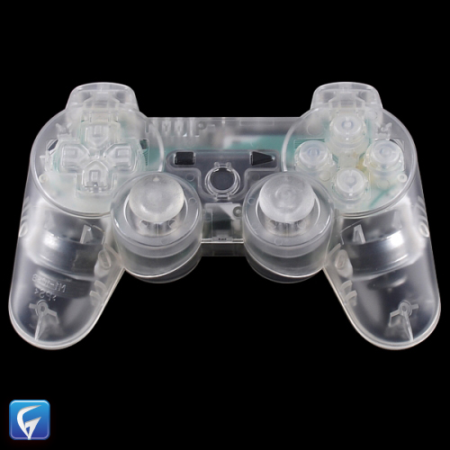Ps3 Dualshock Controller Replacement Shell Crystal Clear