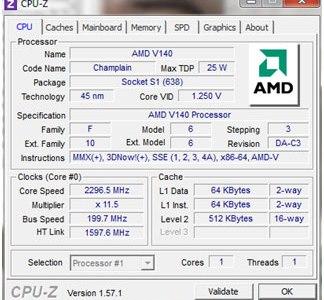 CQ62 - CPU-Z