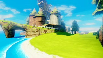 view from edge of windfall island HD