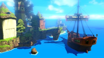 remember there's pirates in Wind Waker, it's a sea faring game lol