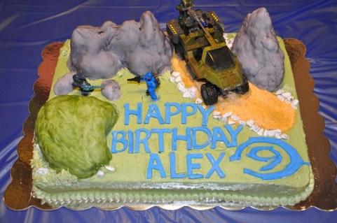 3D Halo Cake