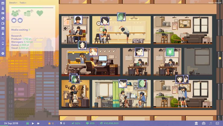 Run your own talent agency in business sim Idol Manager out now on Steam
