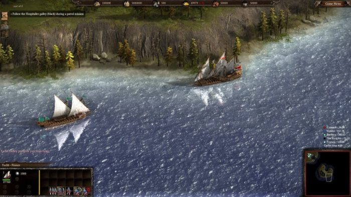 Ships may interfere with each other, preventing their crews from firing upon the enemy.