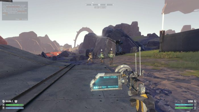 The Signal From Tölva squad command