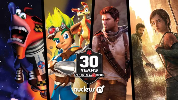Naughty Dog 30 anni