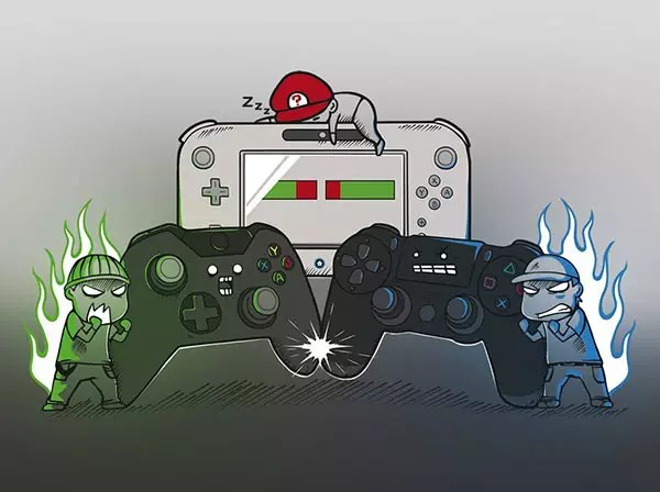 Console Wars PlayStation Xbox One Nintendo