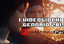 Videogiochi di gennaio GamingPark