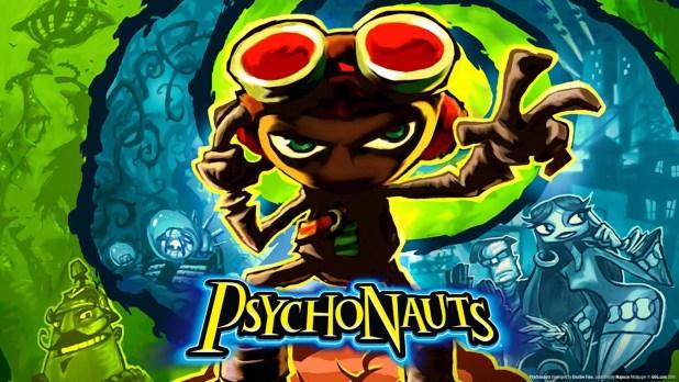 Psychonauts Logo Schafer