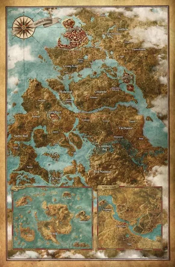 The Witcher III: Wild Hunt Mappa Completa